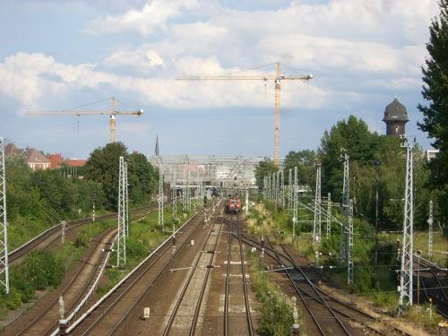 Bahnsteighalle des Bahnhofs Ostkreuz