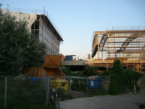 Nördliches Ende der Bahnsteighalle am OStkreuz