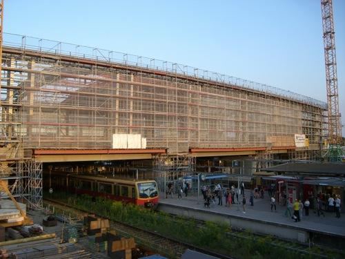Bahnsteighalle Bahnhof Ostkreuz