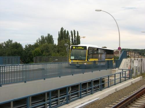 Schienenersatzverkehr am Ostkreuz