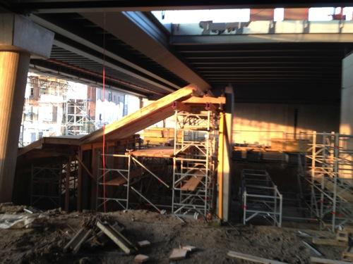 Treppenanlage zum Ringbahnsteig