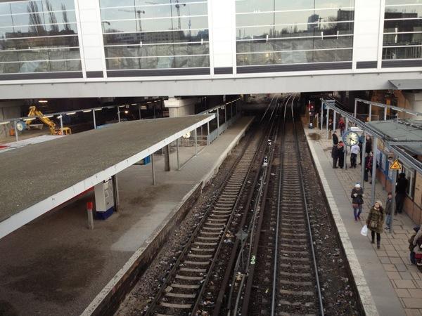 Gleis 5 Bahnsteig D Ostkreuz