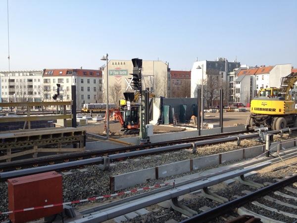 Kabelarbeiten Ringbahn Ostkreuz