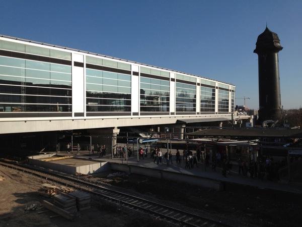 Die neue Ringbahnhalle am Ostkreuz wird am 16. April eröffnet
