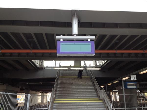 Aufgang Bahnsteig D