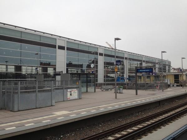 Ostkreuz Regionalbahnsteig oben