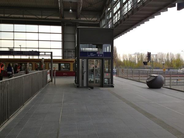 Aufzug Ostkreuz Ringbahnhalle