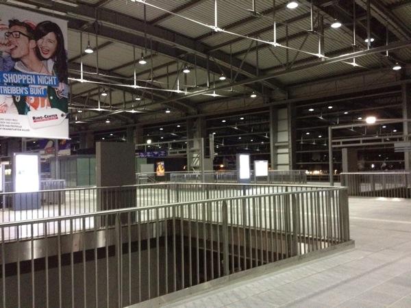 Ringbahnsteig Ostkreuz Ringbahnhalle