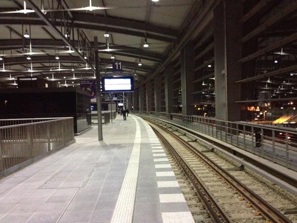 Ringbahngleis Richtung Treptower Park