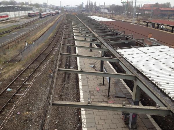 Umbau S-Bahnhof Warschauer Straße