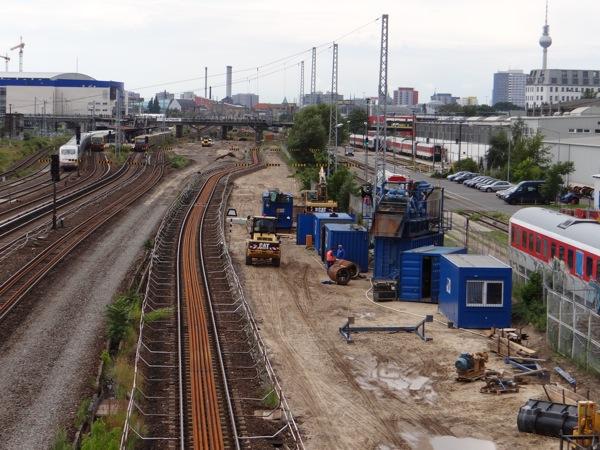 Entwässerungskanal Warschauer Straße