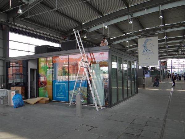 Der erste Kiosk auf dem Ringbahnsteig Ostkreuz