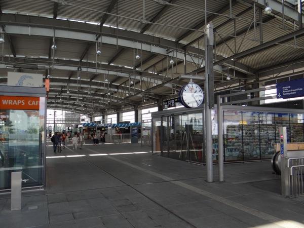 Neue Shops in der Ringbahnhalle