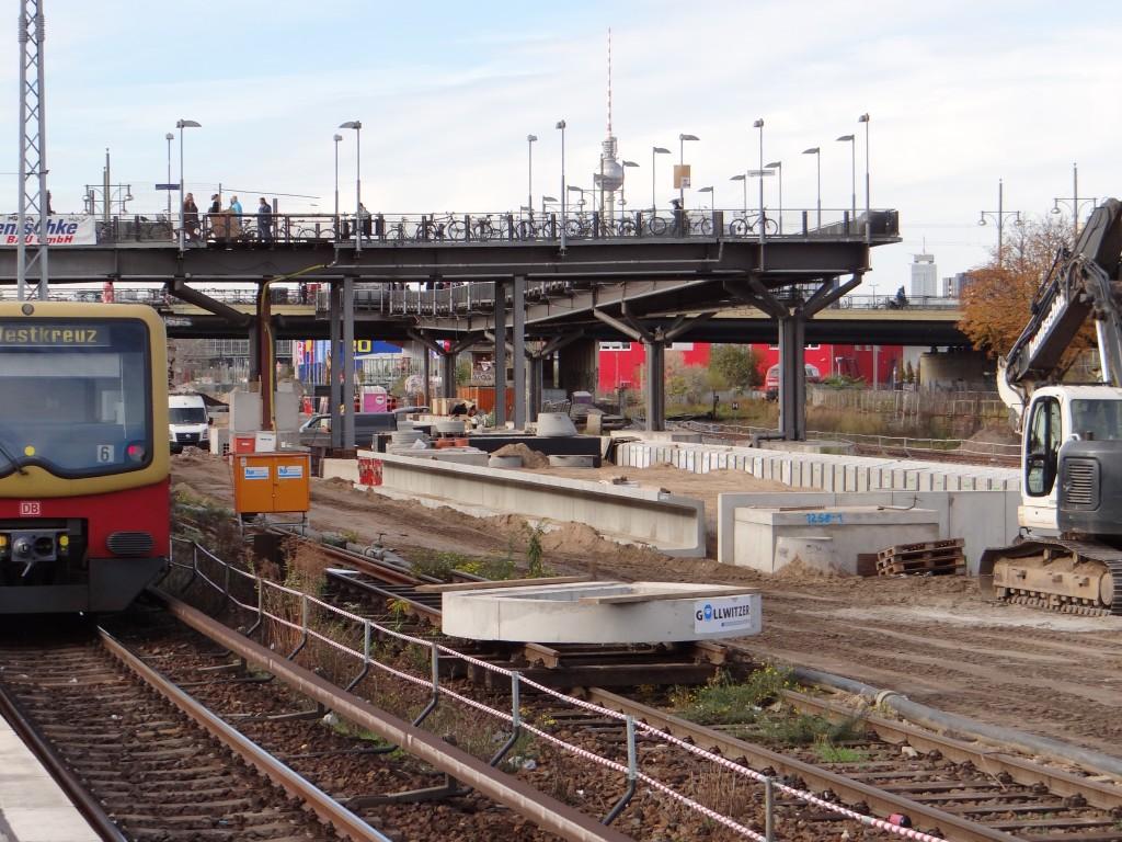 S-Bahnhof Warschauer Straße - Bahnsteig B