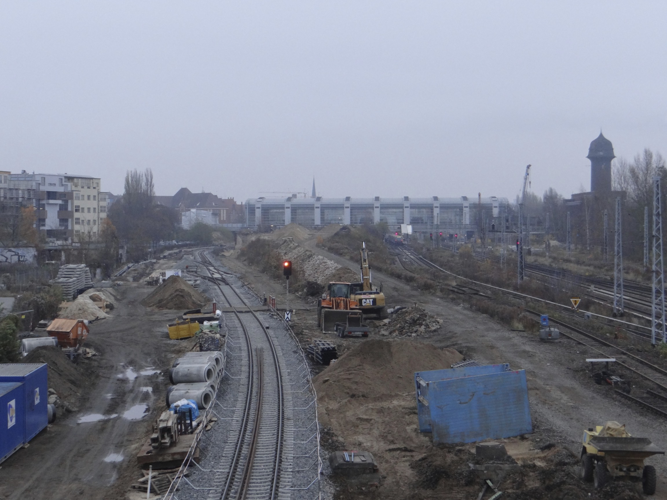 Gleiswechsel für die S-Bahn nach Warschauer Straße