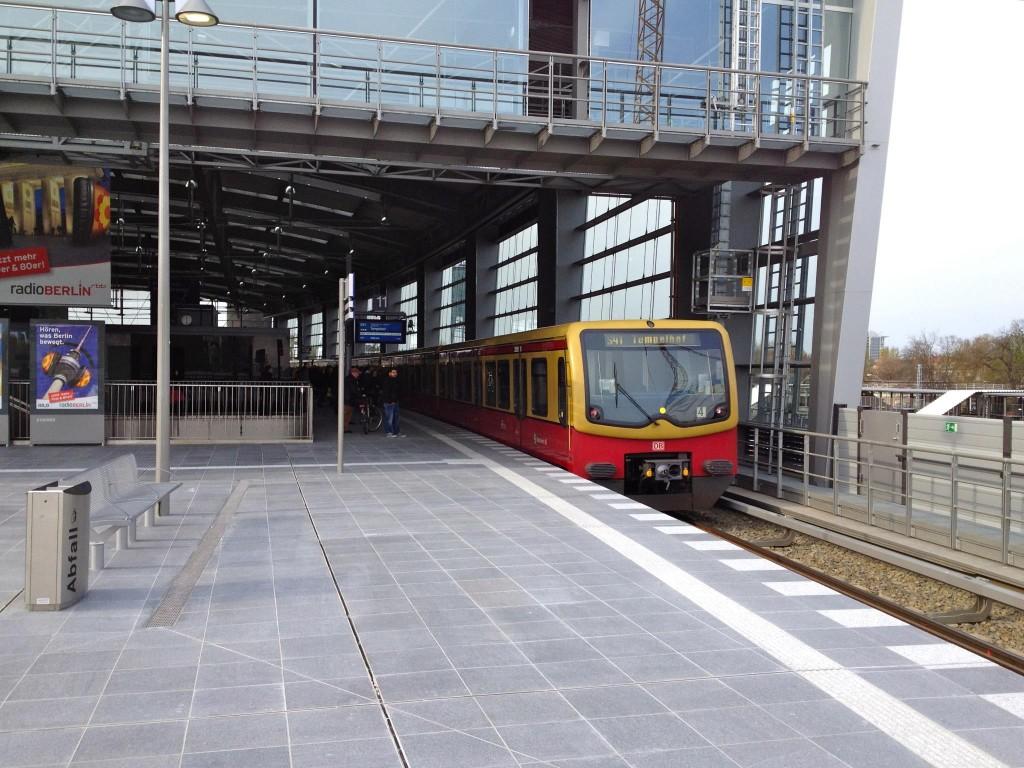 Ringbahnsteig Bahnhof Ostkreuz