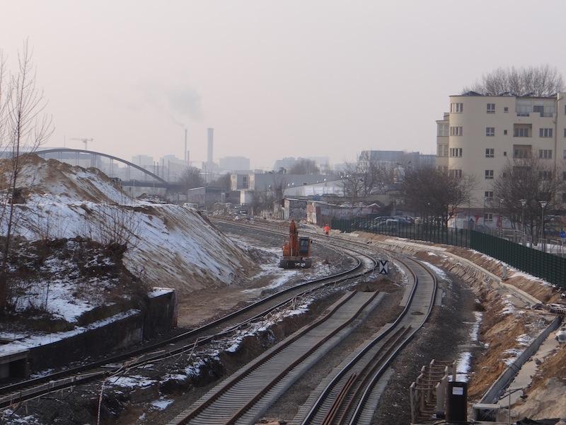 S-Bahntrasse nördlich des Ostkreuzes