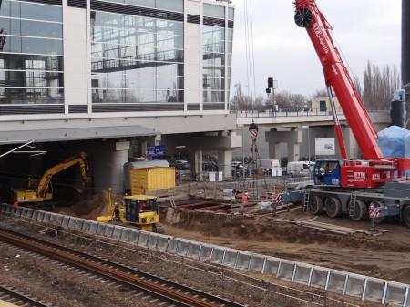 Gleisplanum der Fernbahn