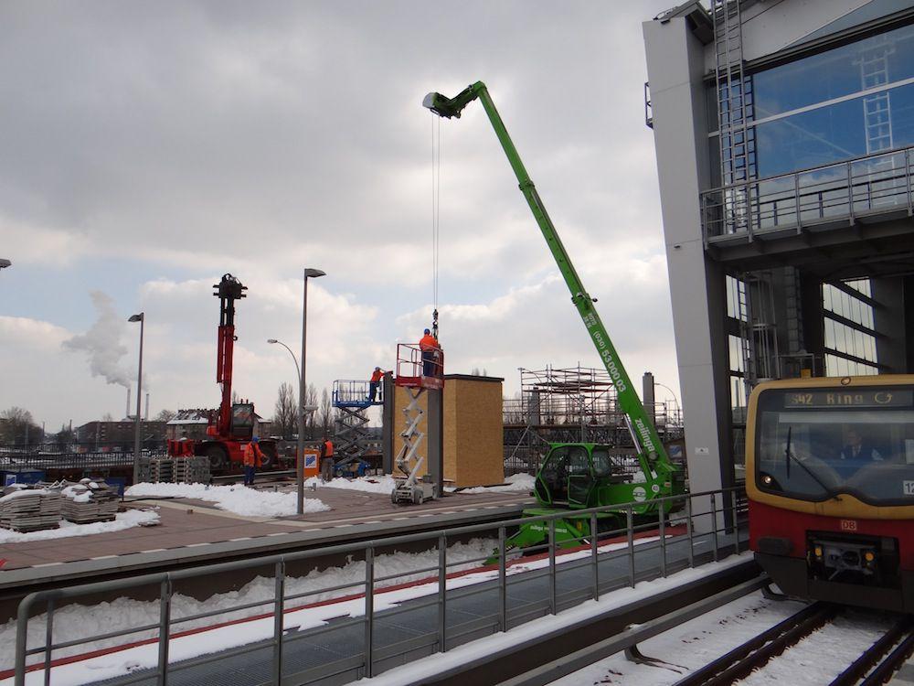 Ein Dach für den Regionalbahnsteig an der Ringbahn