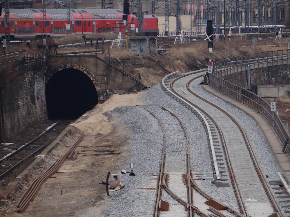 Blick Richtung Ostbahnhof