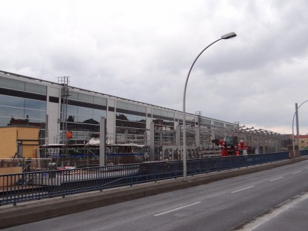 Behelfsbrücke Karlshorster Straße