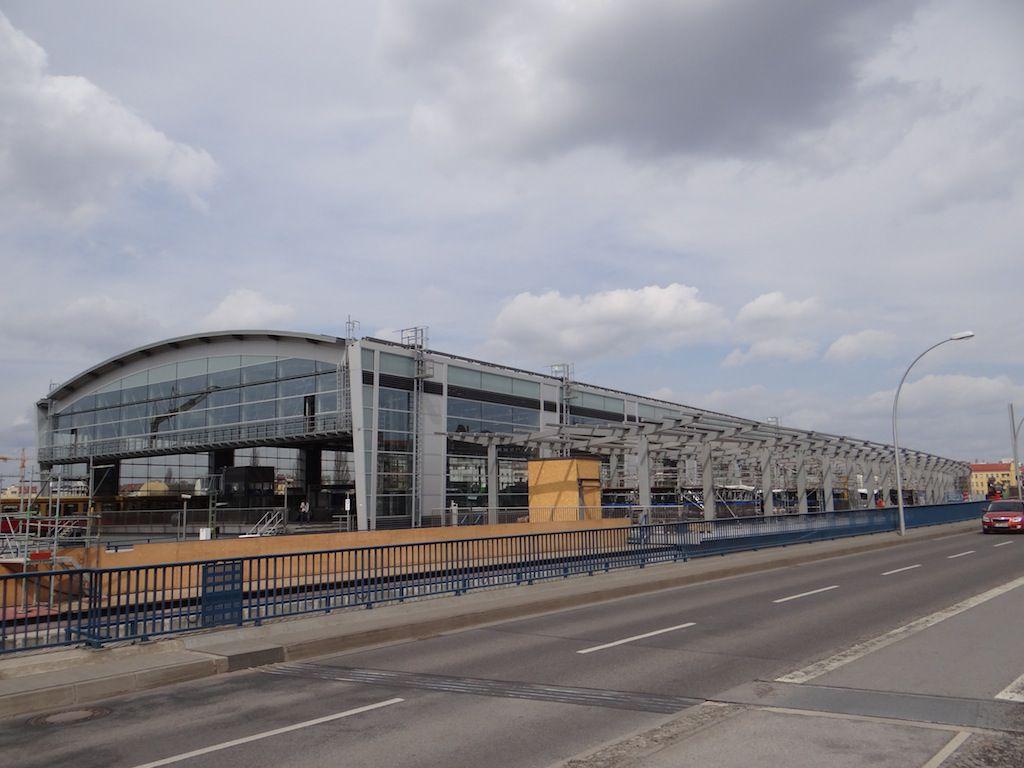 Bahnsteigdach Regionalbahnsteig Ringbahn