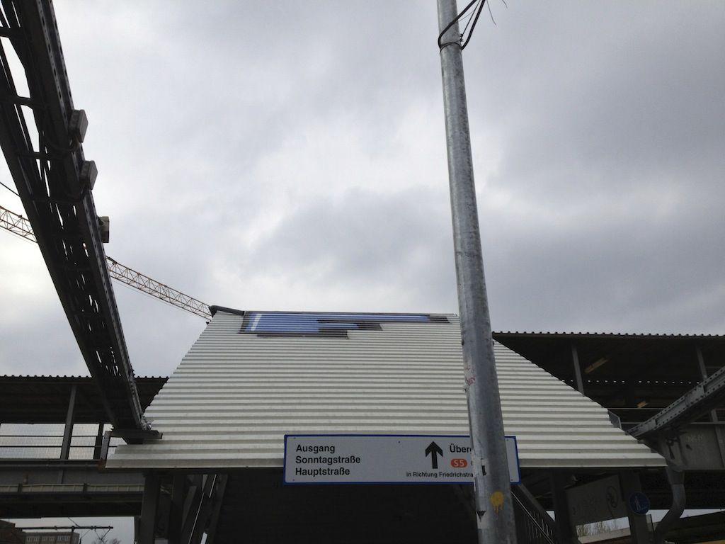Einstiger Standort der Ostkreuz Webcam
