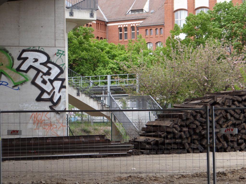 So nah und doch unerreichbar, der Aufgang zur Kynastbrücke