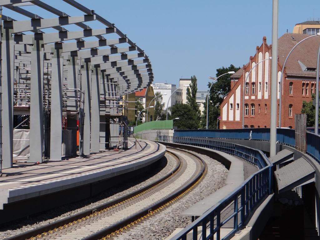 Der Regionalbahnsteig Ro