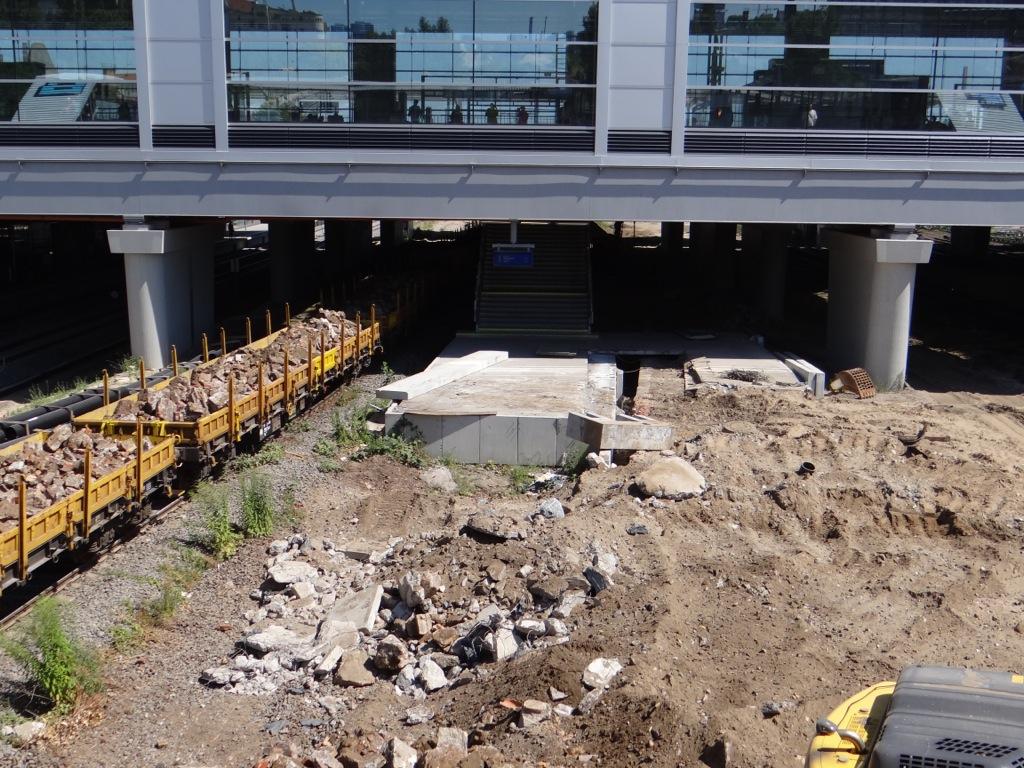 Der neue Bahnsteig D kann bald entstehen