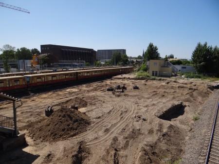 Sandwüste am Ostkreuz