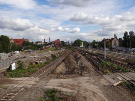Östliches Gleisvorfeld Ostkreuz
