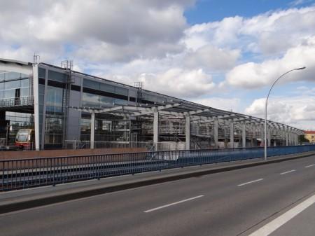 Regionalbahnsteig oben, keine weiteren Arbeiten mehr