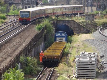 Der alte Tunnel zwischen Ostbahnhof und Warschauer Straße