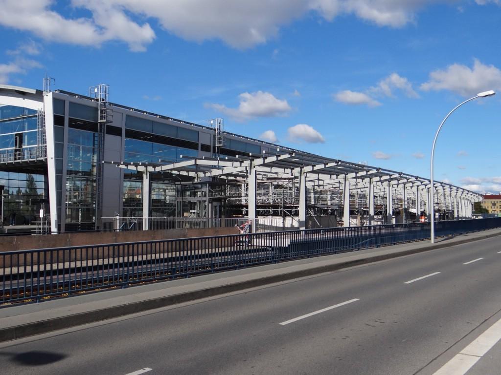 Regionalbahnsteig an der Ringbahn