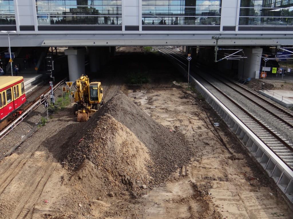 Baufreiheit für den Bahnsteig RU