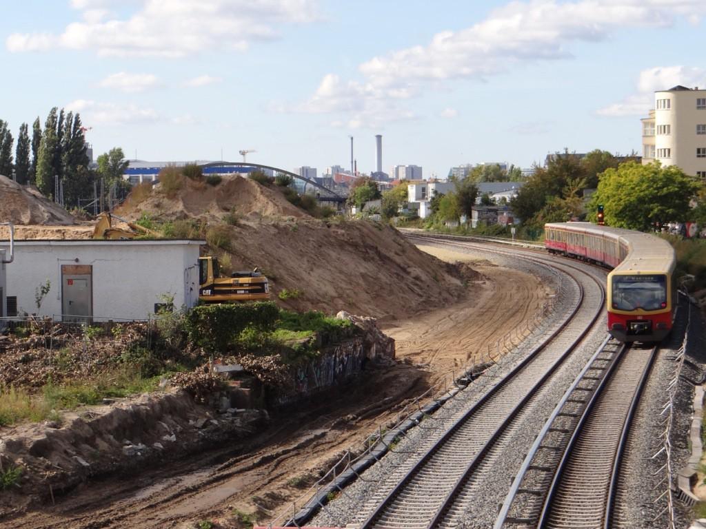 Neue Gleistrasse