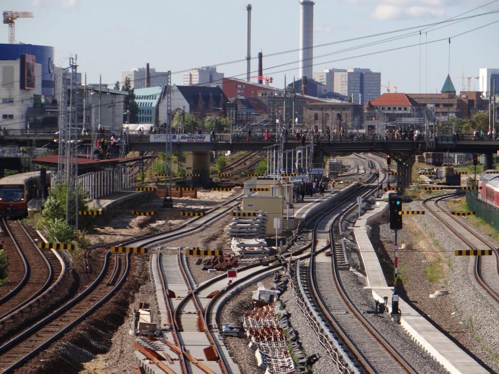 Östliches Gleisvorfeld Warschauer Straße