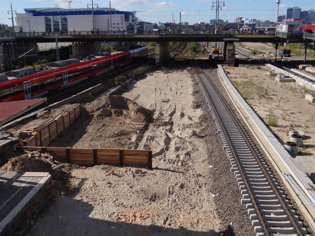 Baufreiheit für die Bahnhofshalle Warschauer Straße
