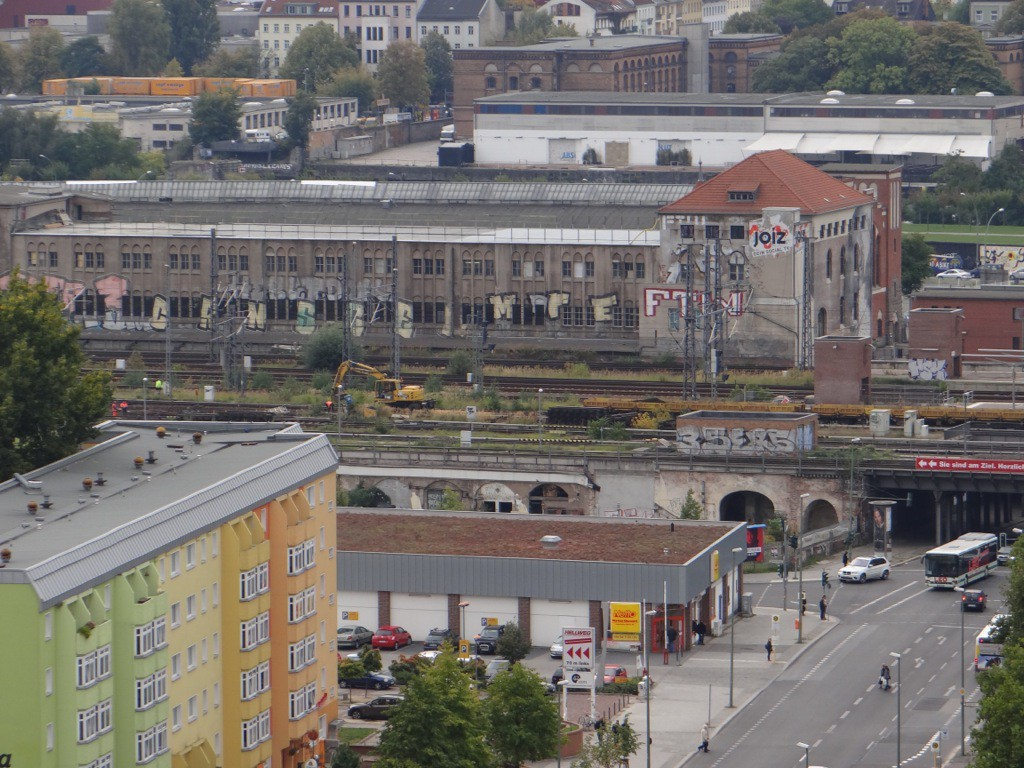Gleisbauarbeiten am Ostbahnhof