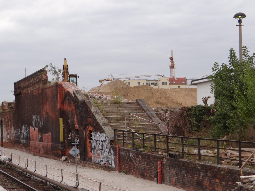Gleisschleifen am Ostkreuz