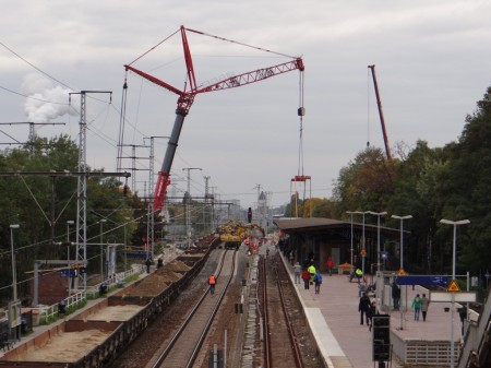 Mobilkran in Karlshorst