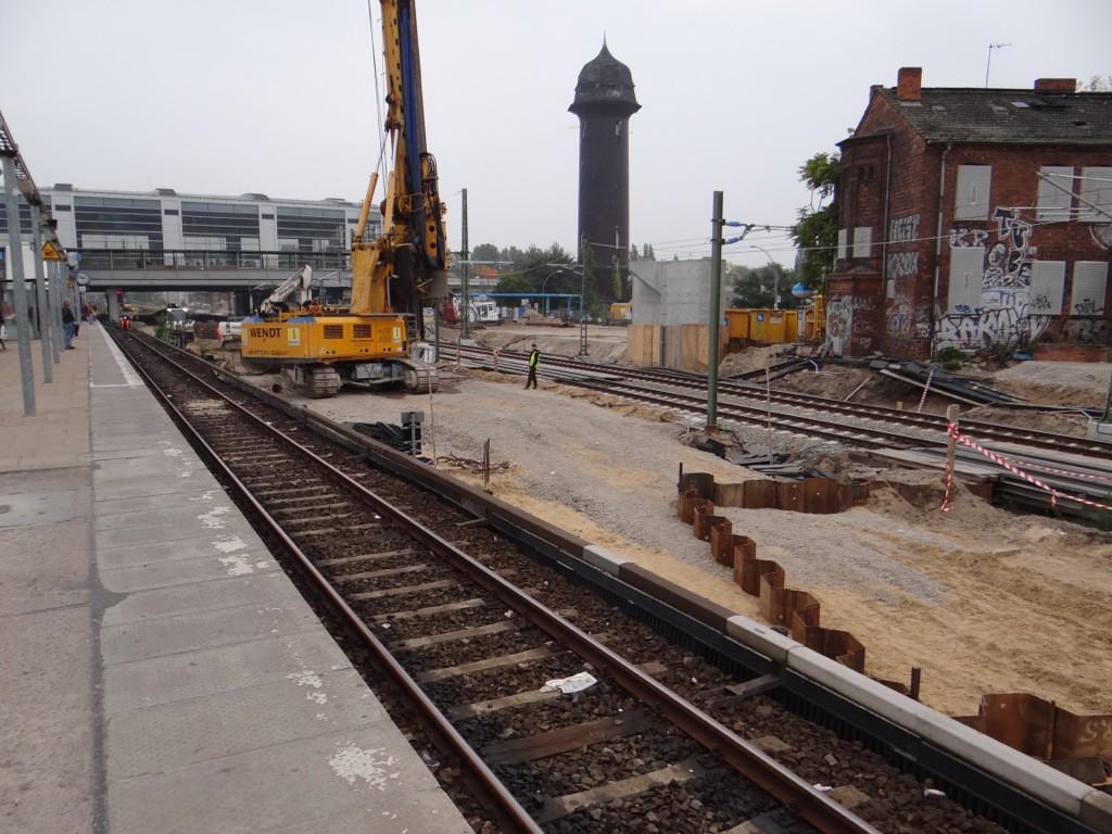 Eine völlig neue Bahnstrasse entsteht