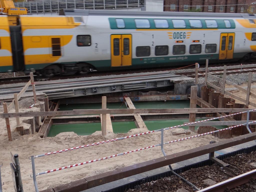 Bauen bei laufendem Bahnverkehr