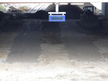 Befestigter Untergrund Bahnsteig D