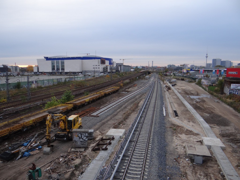Westlich der Warschauer Straße keine Arbeiten