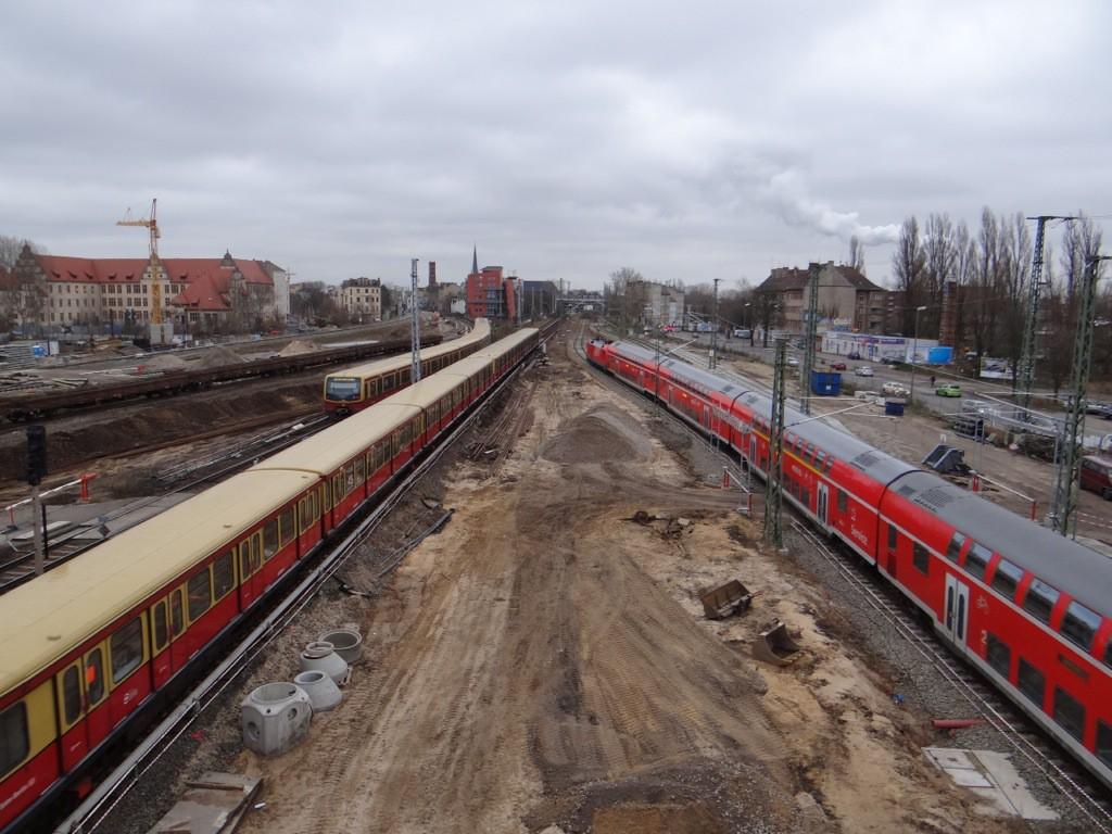Bereich des künftigen Regionalbahnsteigs Ru