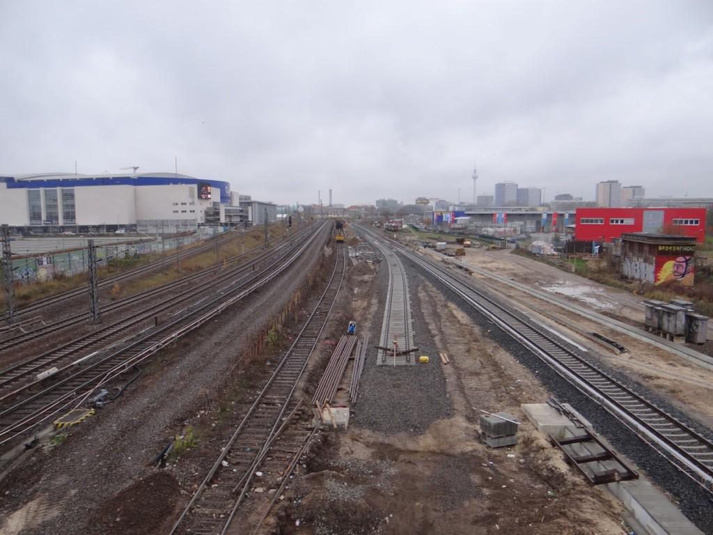 Das zweite neue S-Bahngleis