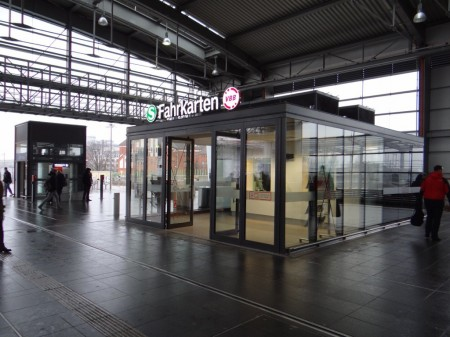 Fahrkartenausgabe Ringbahnsteig