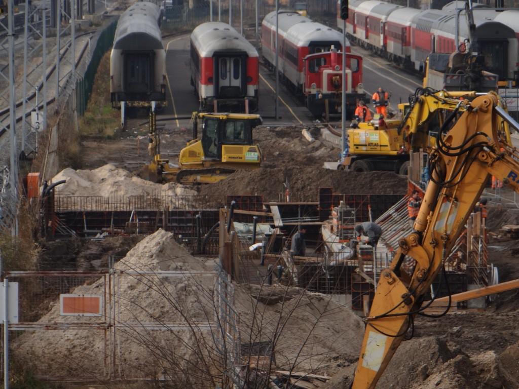Bauarbeiten im Talgowerk